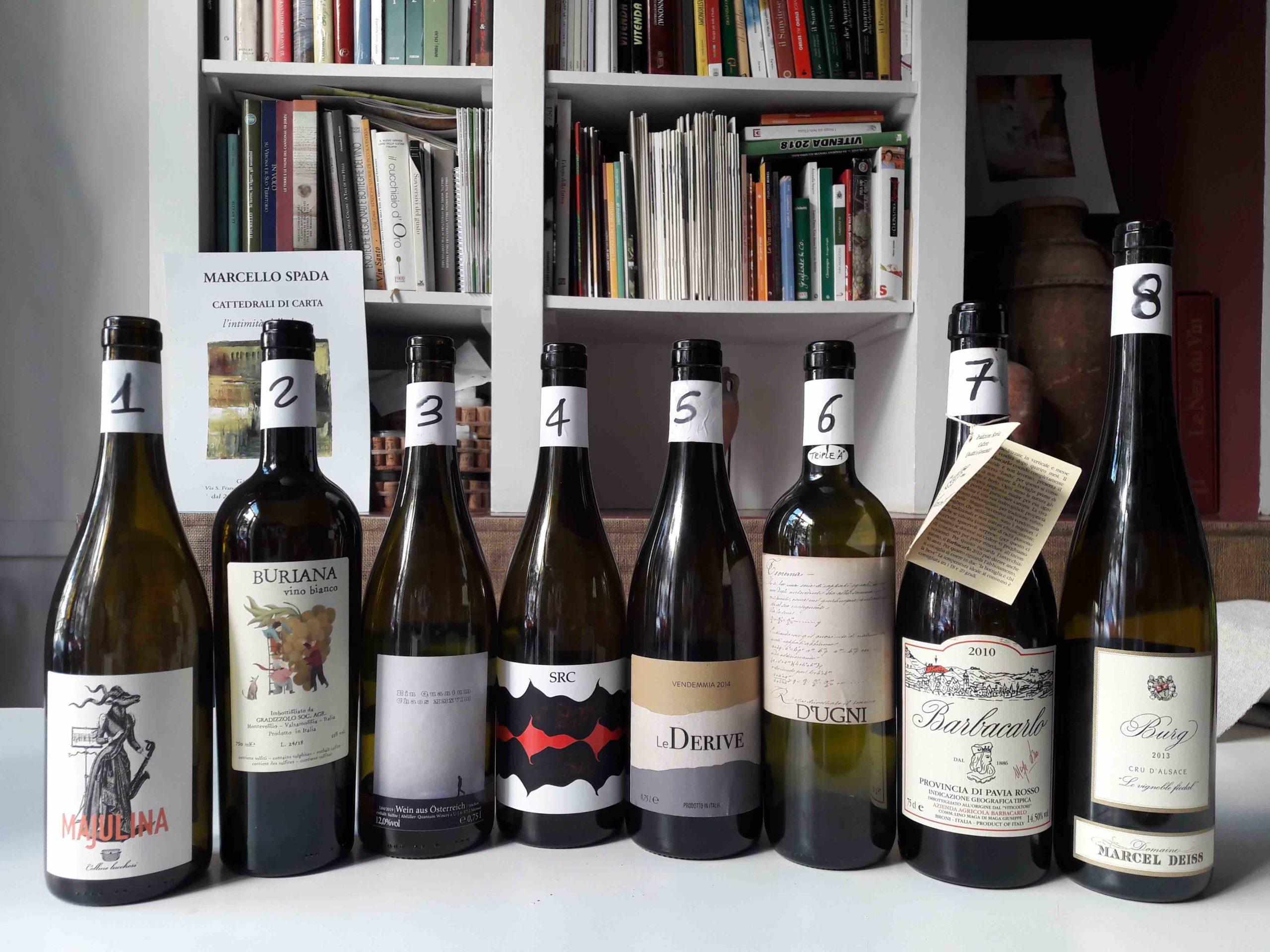 bottiglie vigne miste